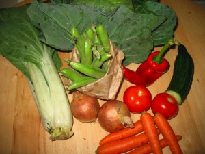 Organic Vegetable Box June 16th