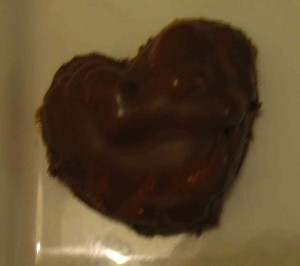 Heart shaped Marshmallow Cookie