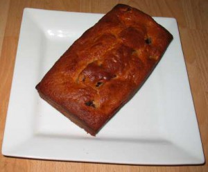My Cherry Loaf was a little on the over-brown side...
