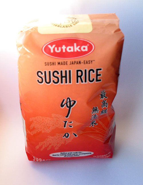 Bag of Sushi Rice
