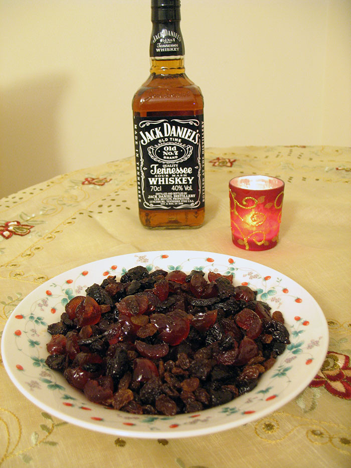 Jack Daniel's and Cherry Mincemeat