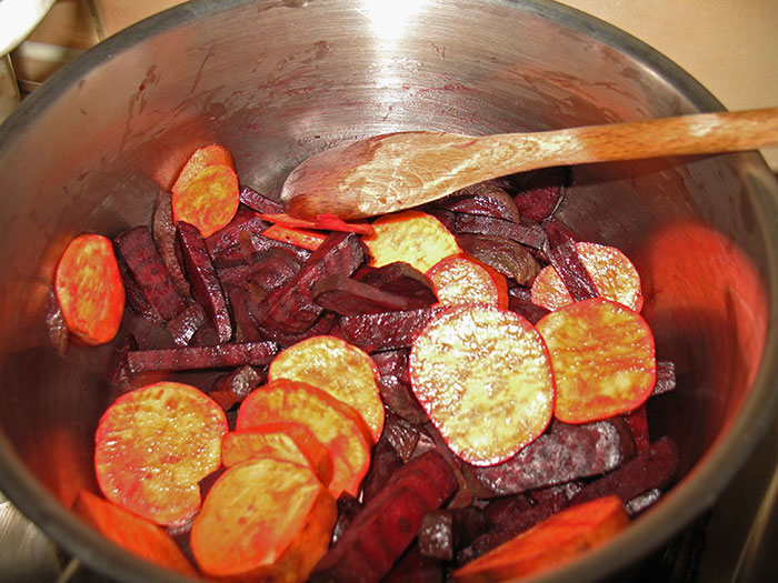 Beetroot and Sweet Potato