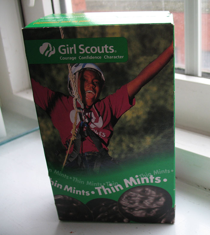 Girl Scout Cookies Box - Thin Mints