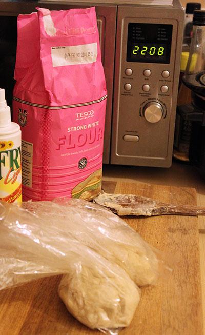 Bagged dough