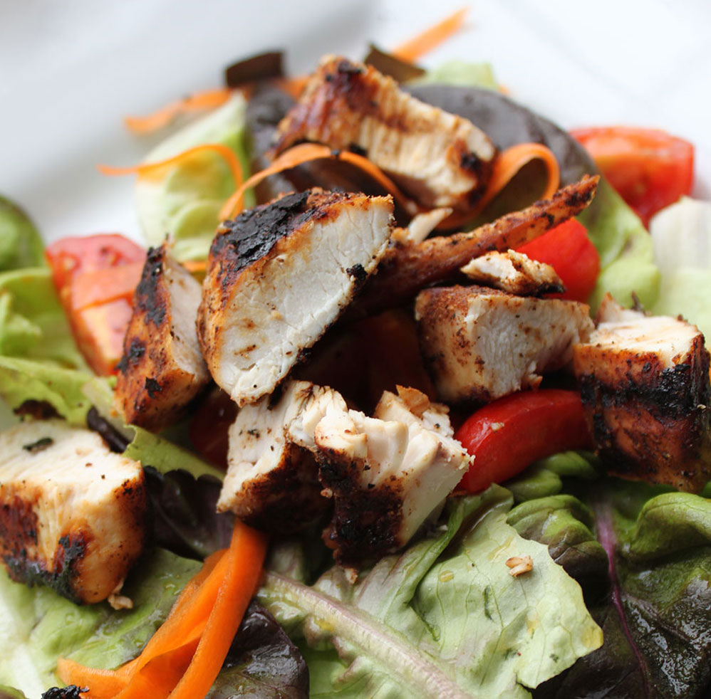 Blackened Chinese Chicken Salad